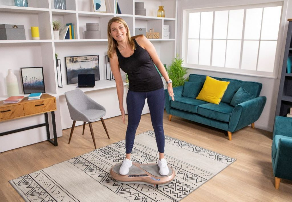 Vibration training exercise equipment for the home