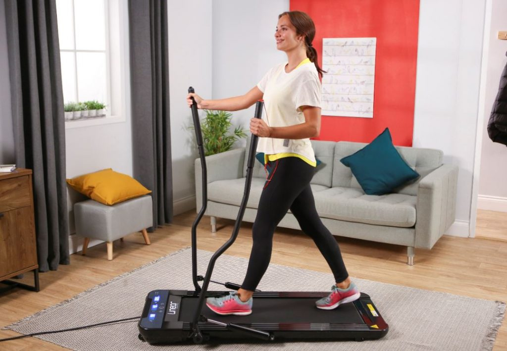 Fold away exercise equipment for the home